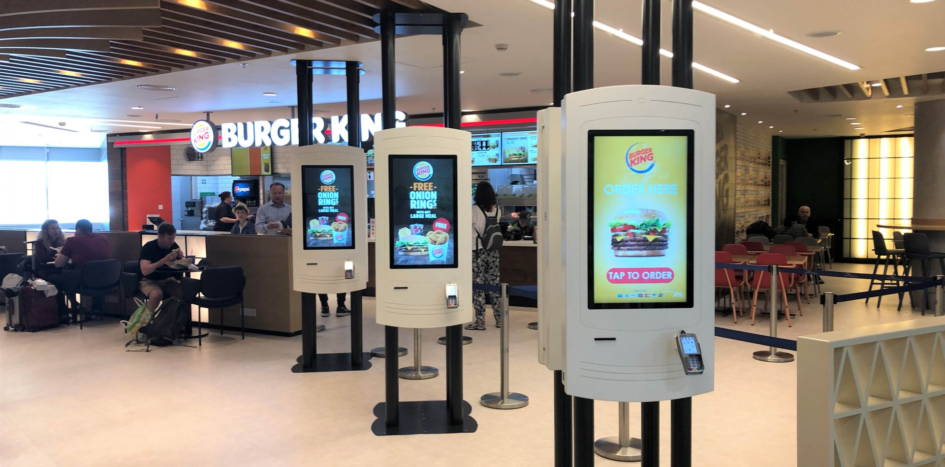 Kiosks for Quick Service Restaurants (QSR)